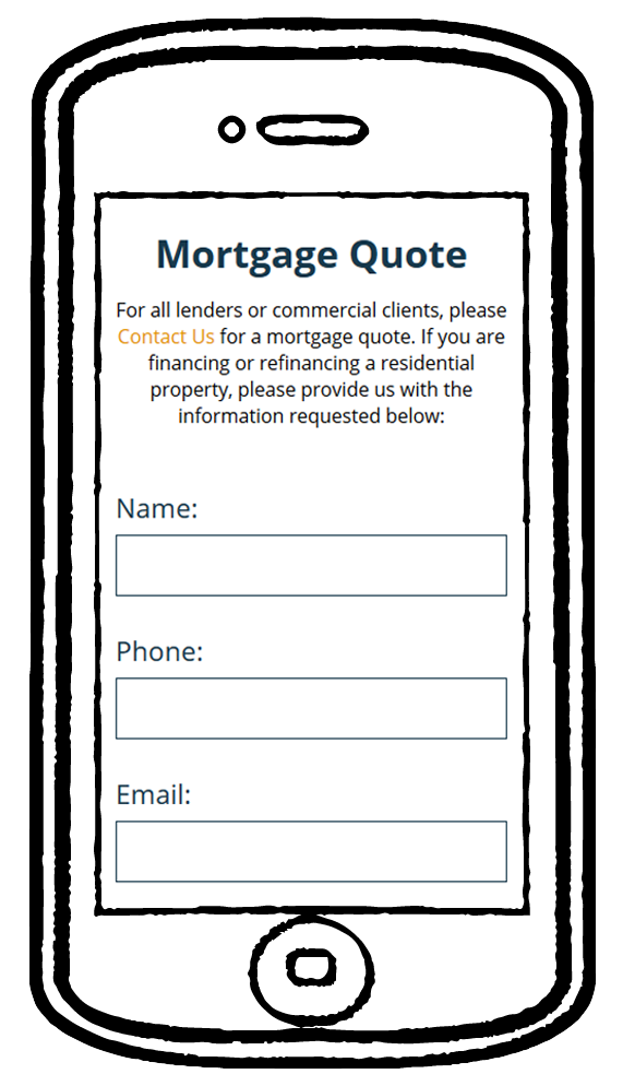 Reich mortgage form